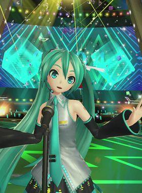 Hatsune Miku: VR Future Live Key Art