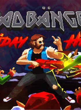 Headbangers in Holiday Hell Key Art