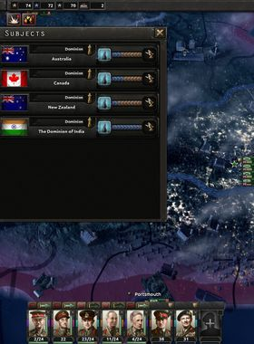 Hearts of Iron 4: Together for Victory Key Art
