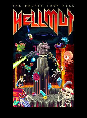 Hellmut: The Badass from Hell Key Art