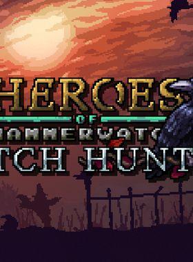 Heroes of Hammerwatch: Witch Hunter Key Art