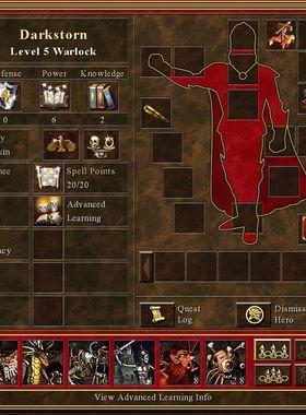 Heroes of Might & Magic 3 Key Art