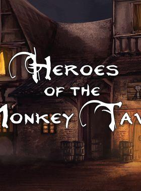 Heroes Of The Monkey Tavern Key Art