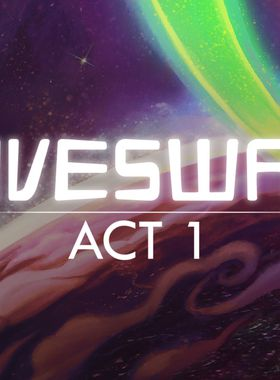 Hiveswap: Act 1 Key Art