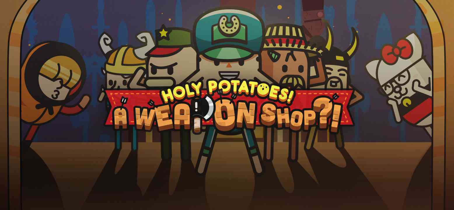 Holy Potatoes! A Weapon Shop?! Background Image