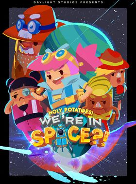 Holy Potatoes! We're in Space?! Key Art