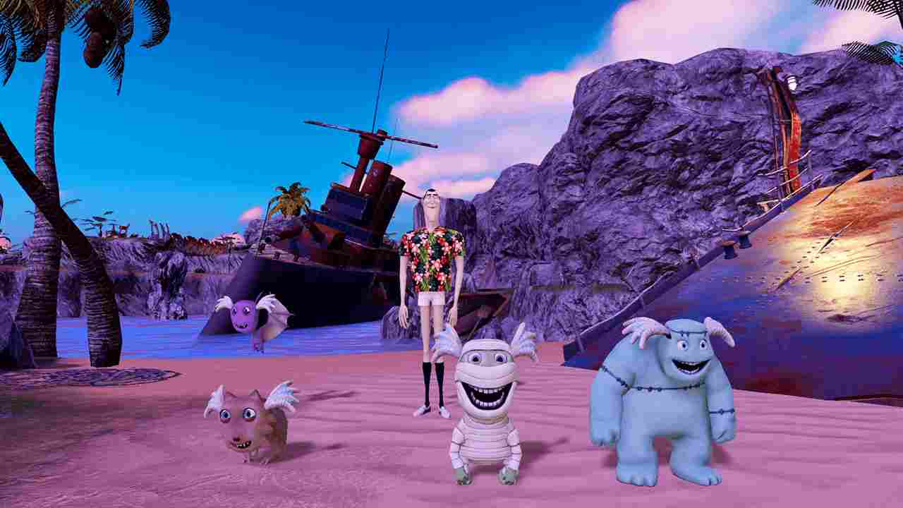 Hotel Transylvania 3 Monsters Overboard Background Image