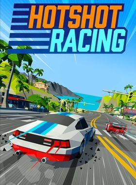 Hotshot Racing Key Art