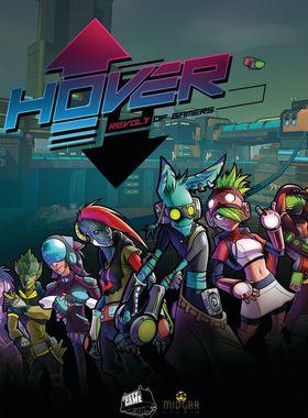 Hover: Revolt of Gamers Key Art