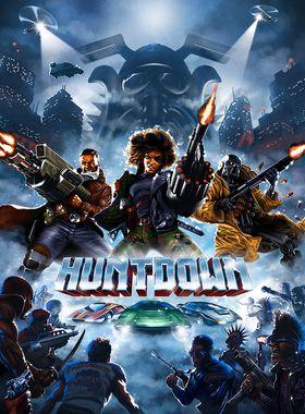 Huntdown Key Art