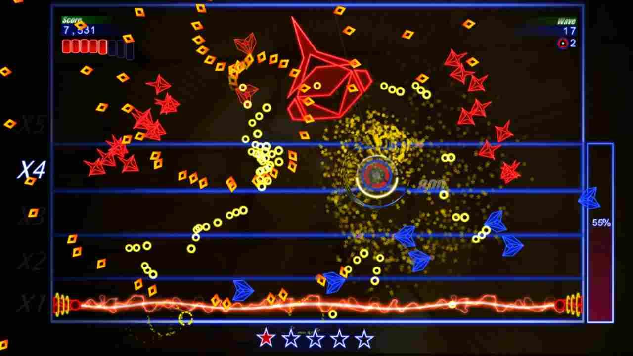 Hyper Bounce Blast Background Image