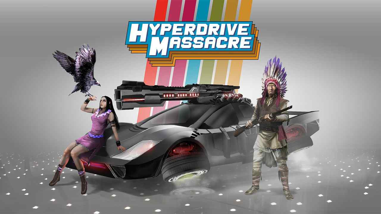 Hyperdrive Massacre Background Image