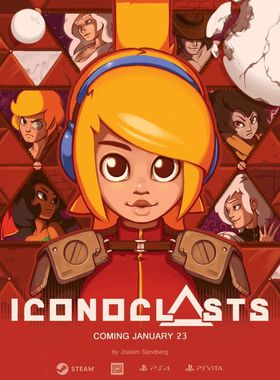Iconoclasts Key Art