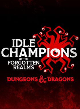 Idle Champions of the Forgotten Realms Key Art