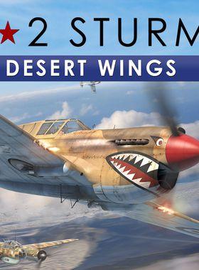 IL-2 Sturmovik: Desert Wings - Tobruk Key Art