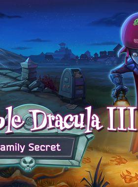 Incredible Dracula 3: Family Secret Key Art