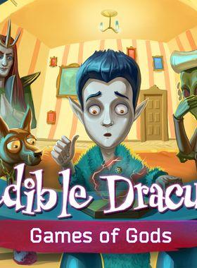 Incredible Dracula 4: Games Of Gods Key Art