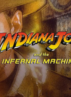 Indiana Jones and the Infernal Machine Key Art