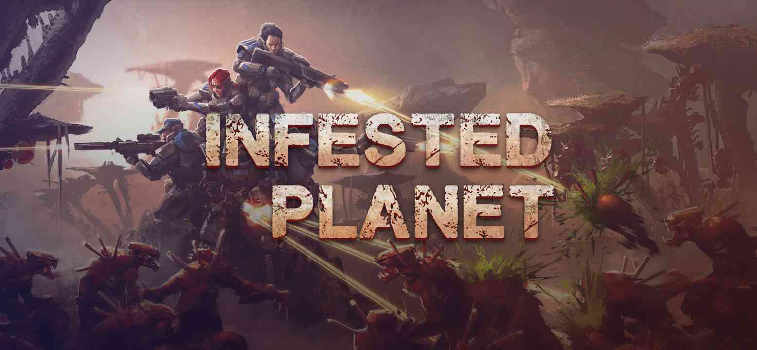 Infested Planet Background Image