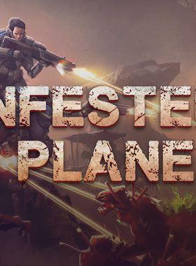 Infested Planet Key Art