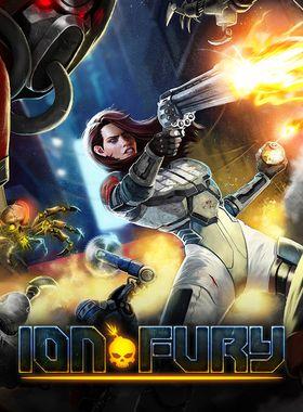 Ion Fury Key Art