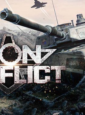 Iron Conflict Key Art