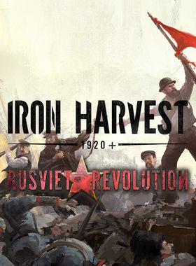Iron Harvest: Rusviet Revolution Key Art
