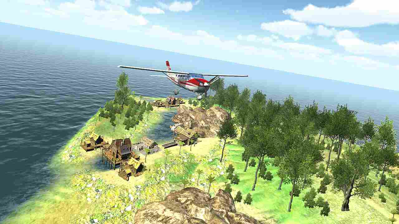Island Flight Simulator Thumbnail
