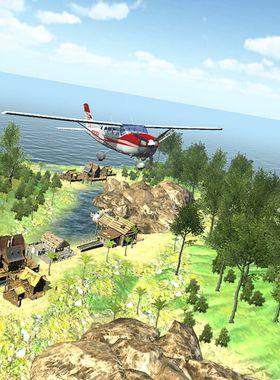 Island Flight Simulator Key Art