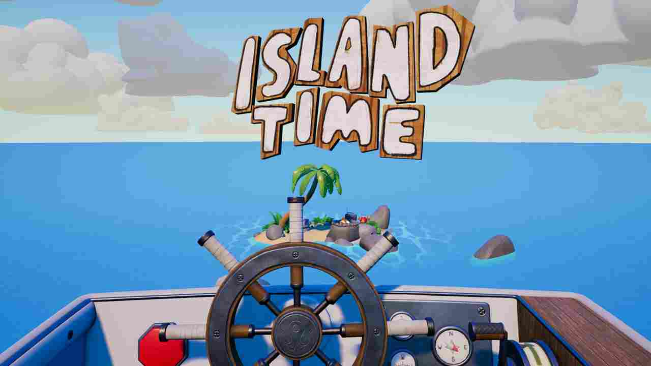 Island Time VR Background Image