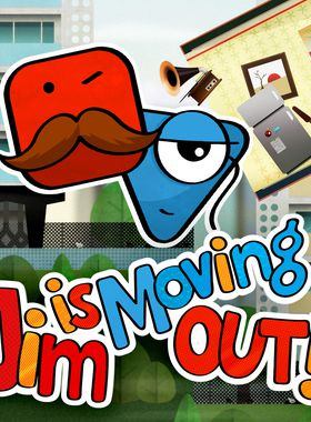 Jim is Moving Out! Key Art