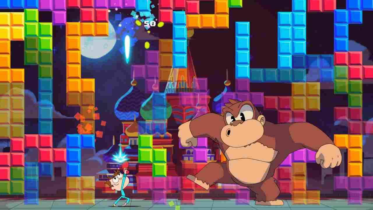 Juanito Arcade Mayhem Background Image