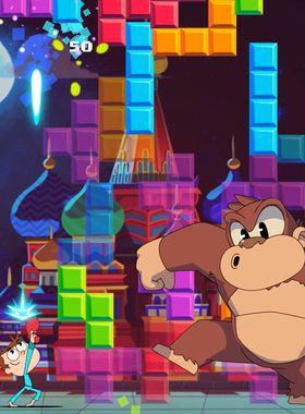 Juanito Arcade Mayhem Key Art