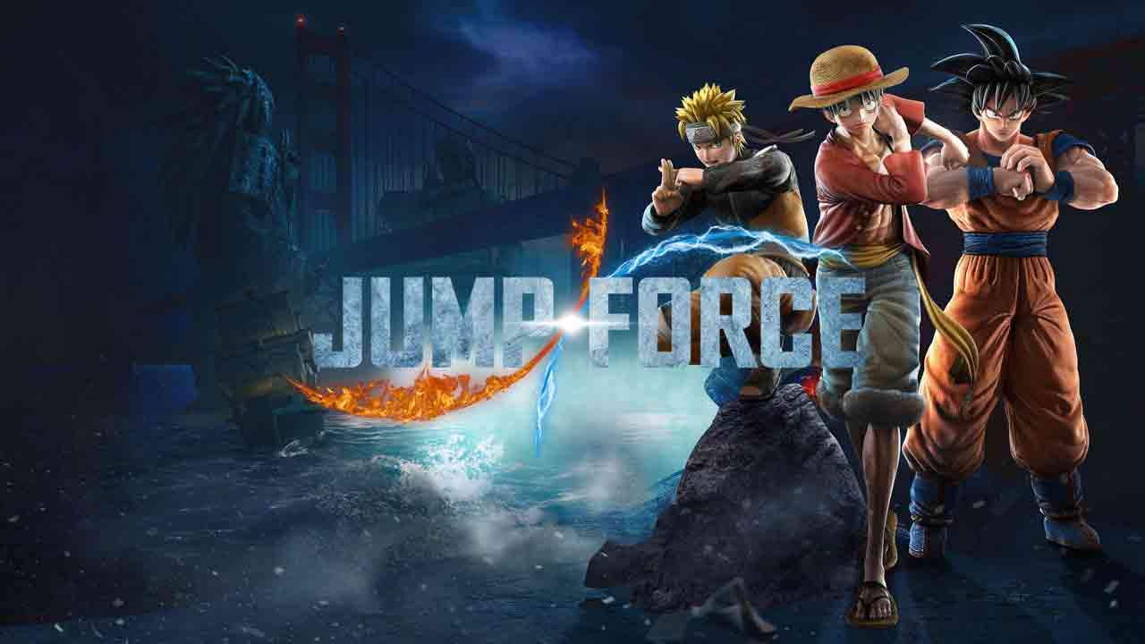 Jump Force Background Image