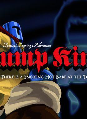 Jump King Key Art