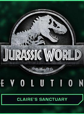 Jurassic World Evolution: Claire's Sanctuary Key Art