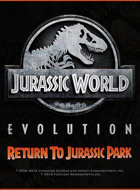 Jurassic World Evolution: Return To Jurassic Park Key Art