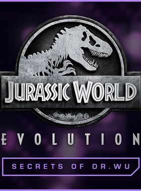 Jurassic World Evolution: Secrets of Dr Wu Key Art