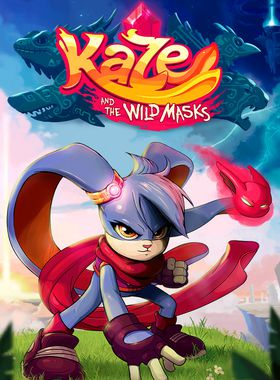 Kaze and the Wild Masks Key Art