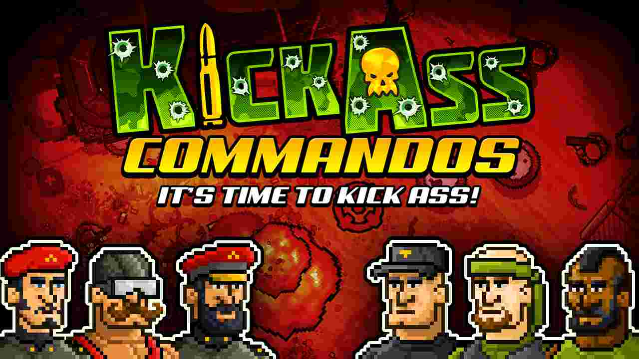 Kick Ass Commandos Background Image