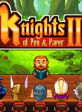 Knights of Pen and Paper 2 Key Art