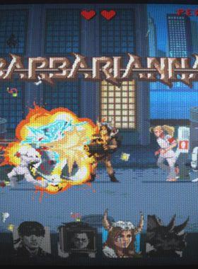 Kung Fury: Street Rage Key Art