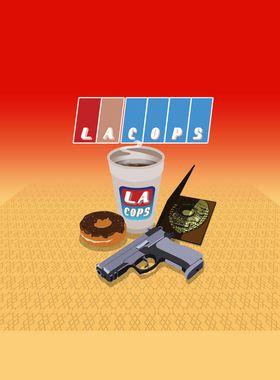 LA Cops Key Art