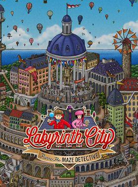 Labyrinth City: Pierre the Maze Detective Key Art