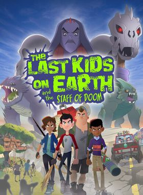 Last Kids on Earth and the Staff of Doom Key Art