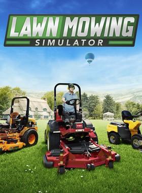 Lawn Mowing Simulator Key Art