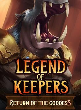 Legend of Keepers: Return of the Goddess Key Art