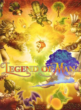 Legend of Mana Key Art