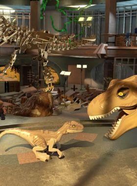 LEGO Jurassic World Key Art