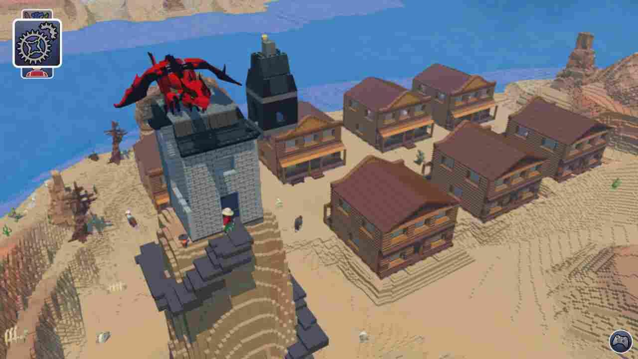 Lego Worlds Background Image
